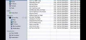 Put music on your iPod through iTunes