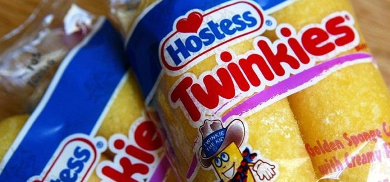 Make Your Own Twinkies and CupCakes (Now That Hostess Is Closed Down)