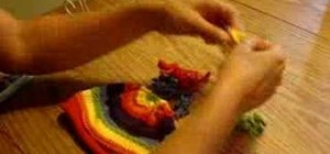 Make a Marley hat topper for babies hats