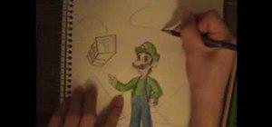 Draw Luigi