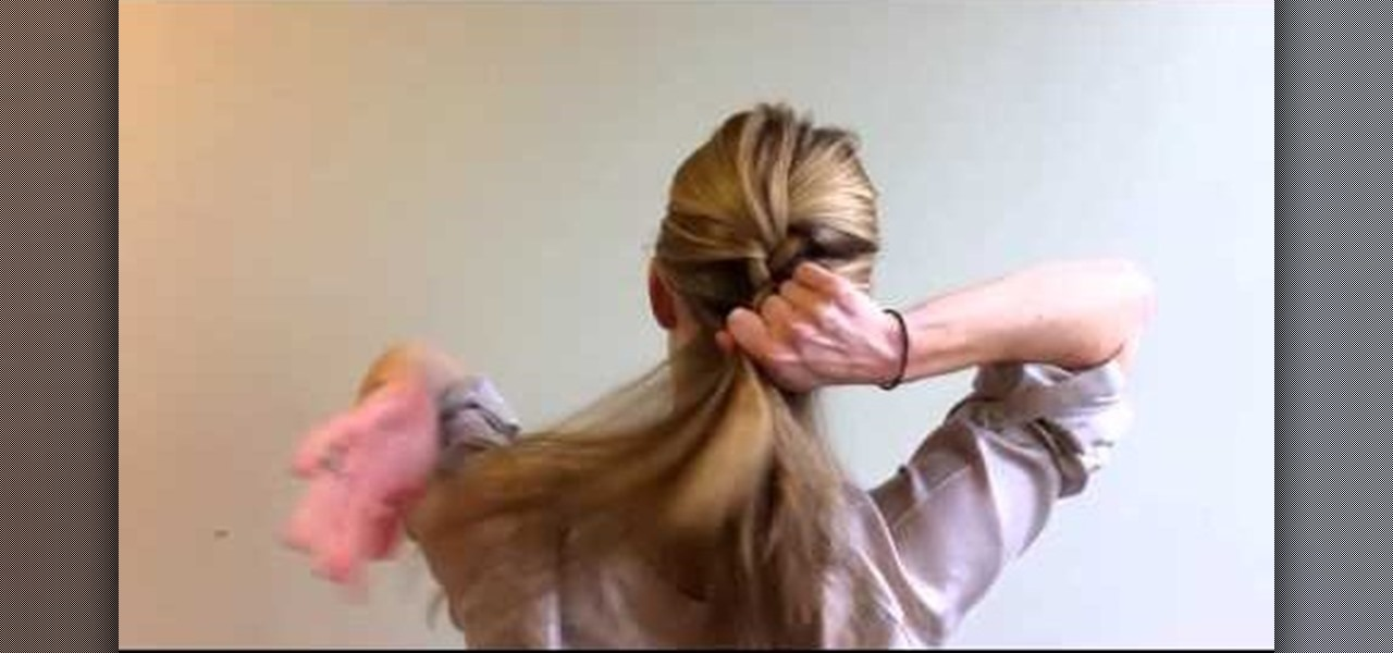 How to braid hair extentions into your own hair hairstyling how to french braid your own hair step by step ccuart Choice Image