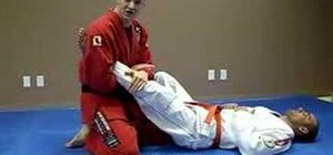Do a Jiu Jitsu ankle lock