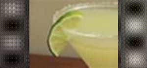 Mix a Skinny Margarita