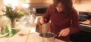 Make homemade chocolate fudge
