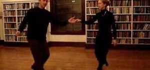 Dance a Texas Tommy lindy hop variation