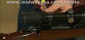 BoreSight a rifle