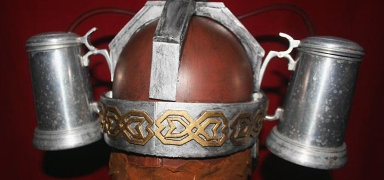 How to Make Your Own Medieval Gimli Beer Helmet