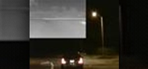Add night vision to your car to see at night