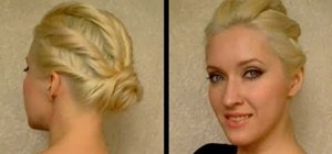 Style your hair for a party, prom, or wedding