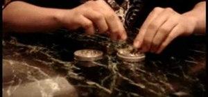 Use a grinder to grind weed