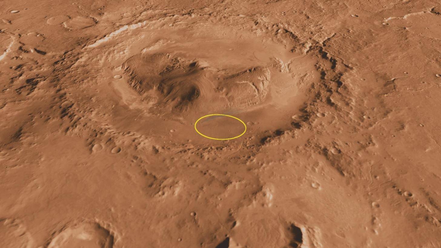 Chemical Cocktail on Mars Makes Microbial Life There Unlikely