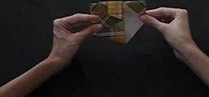 Fold a Mandarin origami duck