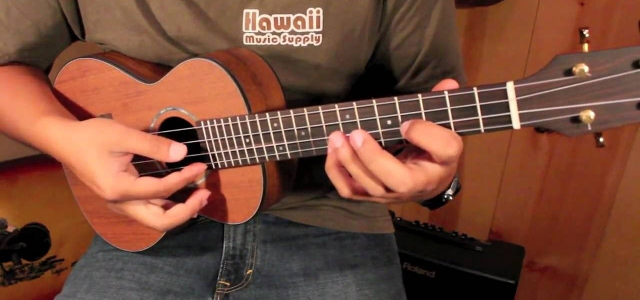 How To Play While My Guitar Gently Weeps Like Jake Shimabukuro On