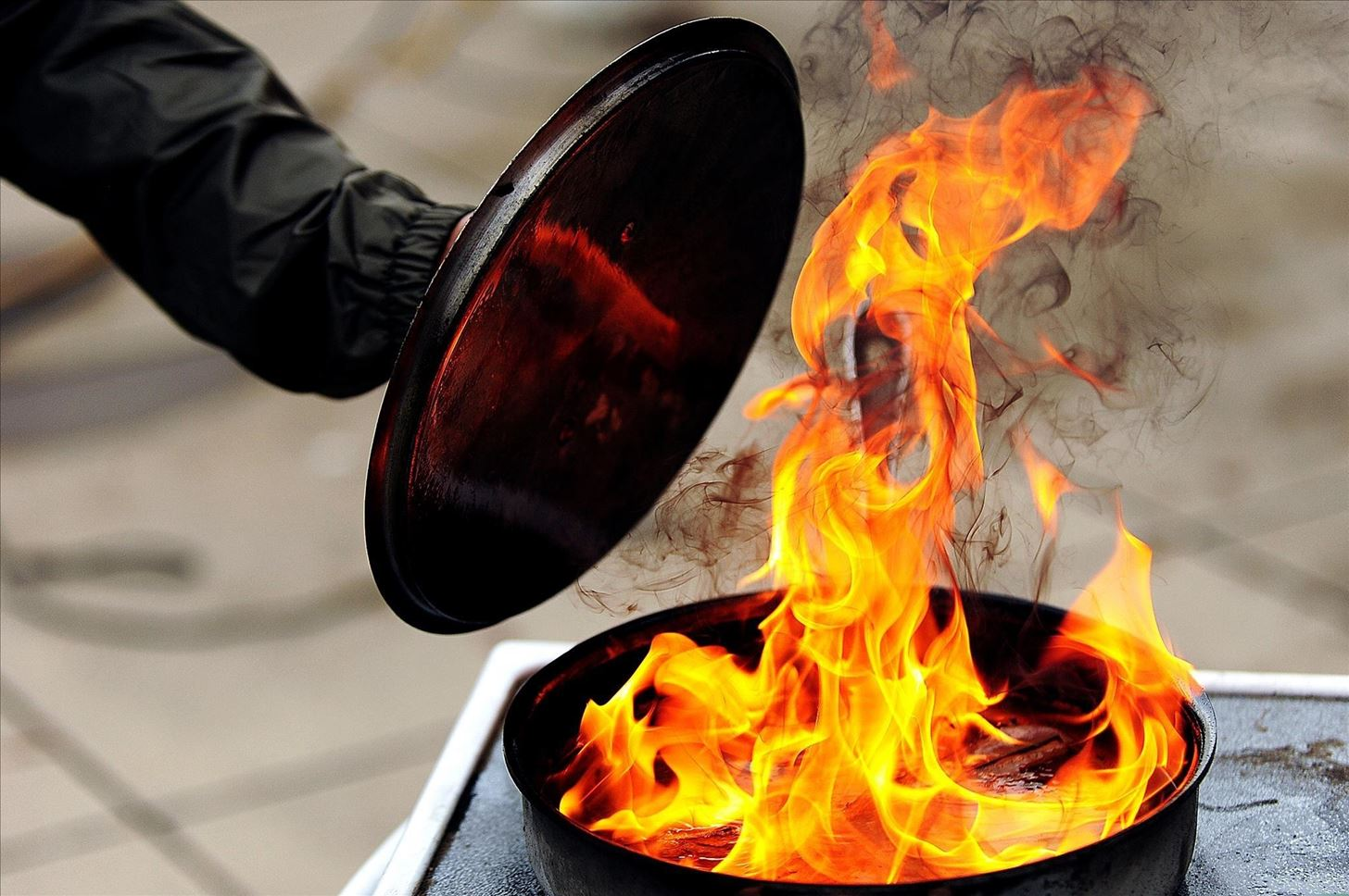 Watch How to Prevent Kitchen Grease Fires video