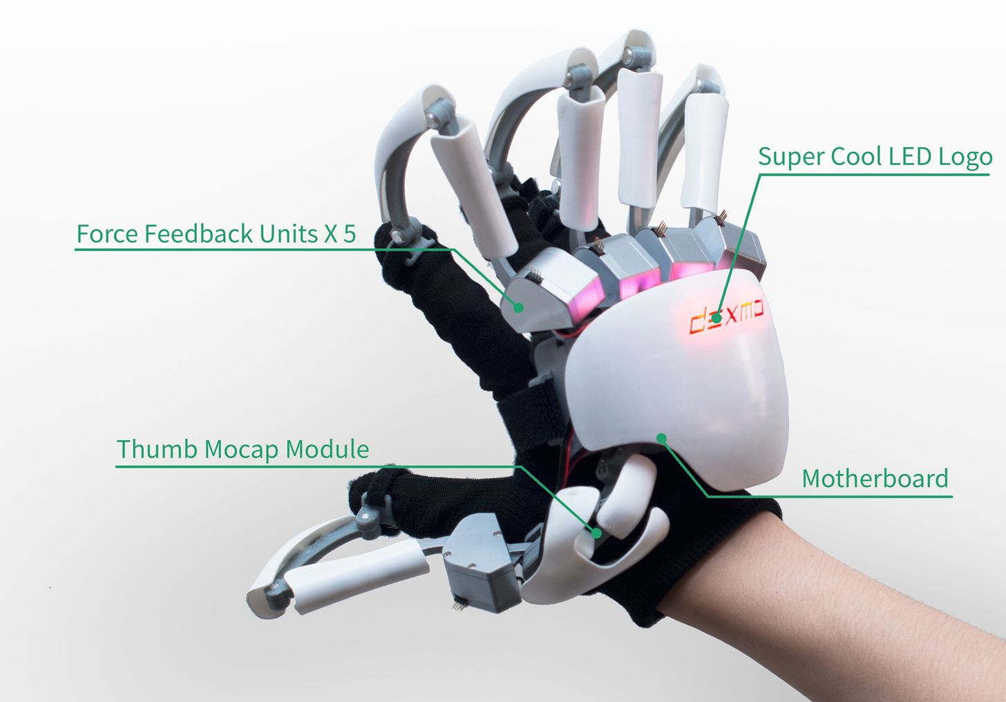Touch & Feel Things That Don't Exist with Dexmo's Exoskeleton Gloves