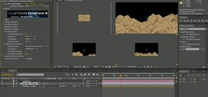 Create a freeform terrain to fly over in Adobe After Effects