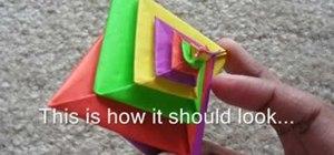 Origami a Tomoko Fuse's Espiral (Spiral)