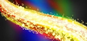 Create an explosive color swath in Photoshop