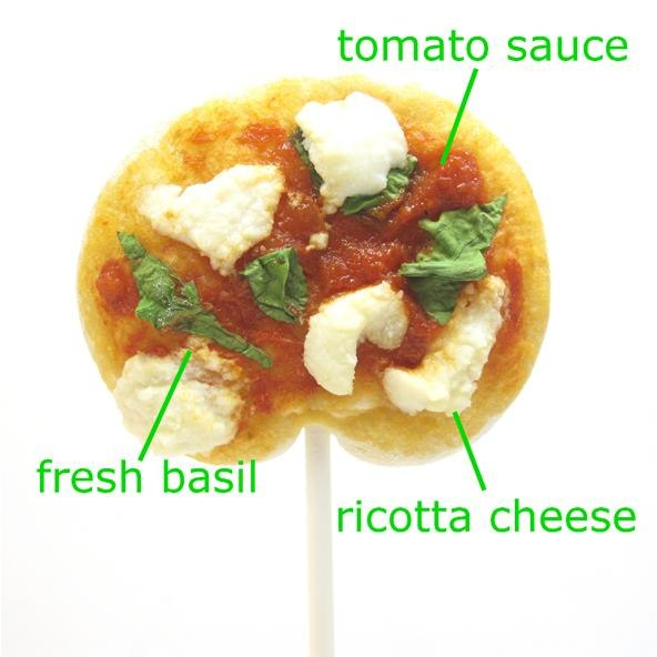 Howto pizza lollipops yes please 171 pizza