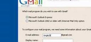 Set-up Outlook Express with Gmail