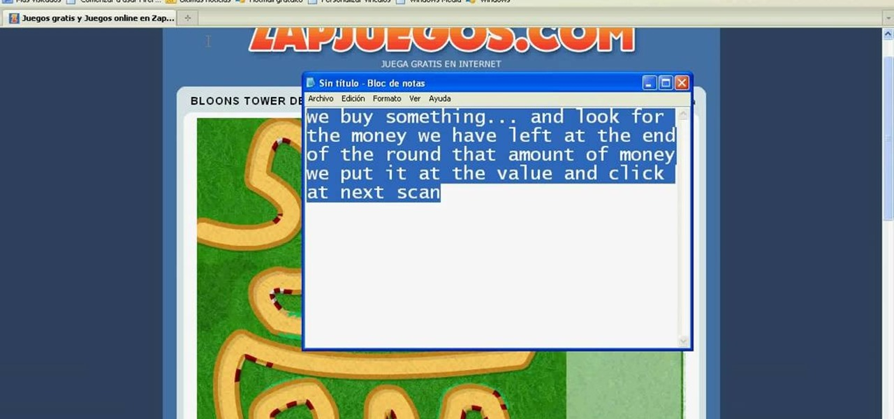 How to Hack Bloons Tower Defense 3 money (10/24/09) « Web Games