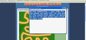 Hack Bloons Tower Defense 3 money (10/24/09)