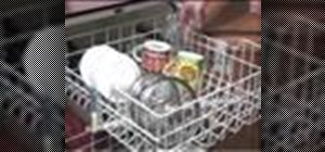Properly load a dishwasher
