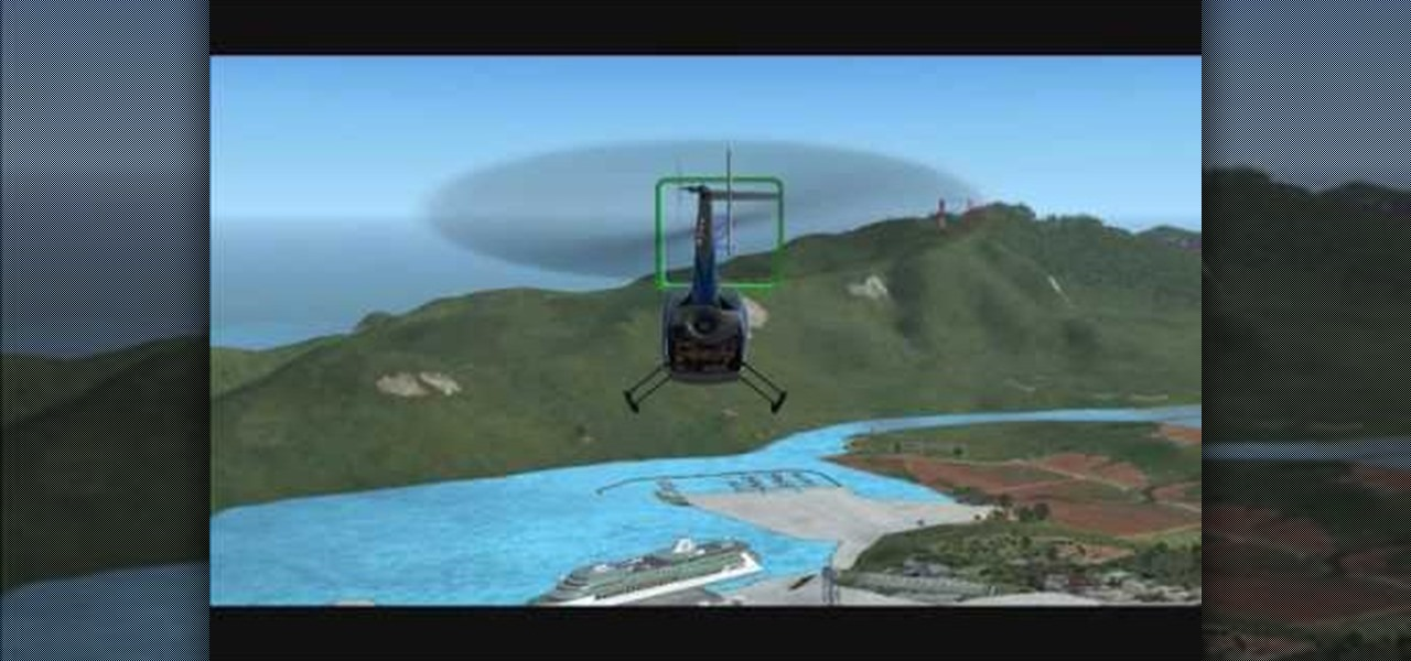 How to Fly a helicopter in FSX « Aviation :: WonderHowTo