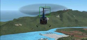 Fly a helicopter in FSX