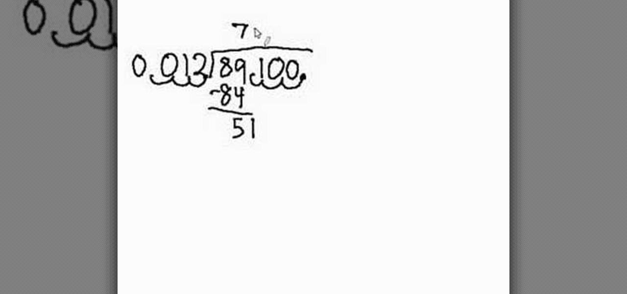 Homework help division decimals