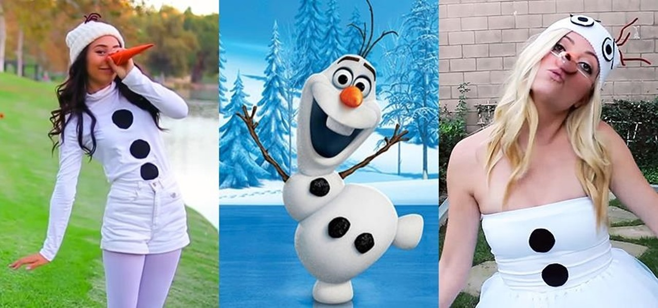 Diy olaf costumes low cost halloween looks for frozens silly diy olaf costumes low cost halloween looks for frozens silly snowman solutioingenieria Image collections