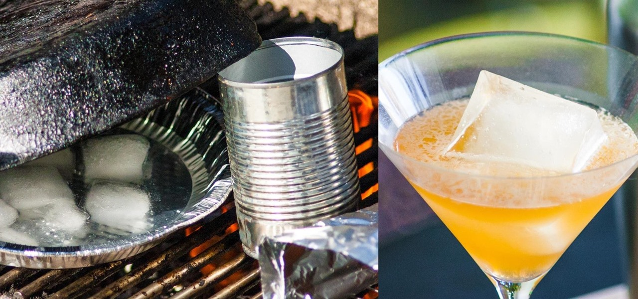 Make Smoked Ice for One-of-a-Kind Cocktails