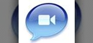 Set up iChat to text, video or audio chat with friends