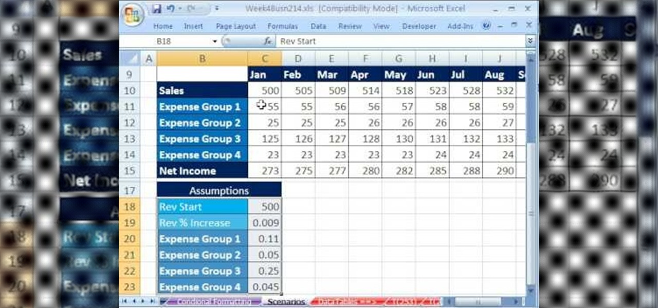 how to create a budget in microsoft excel