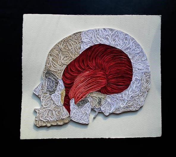 Obsessively Intricate Paper Anatomy