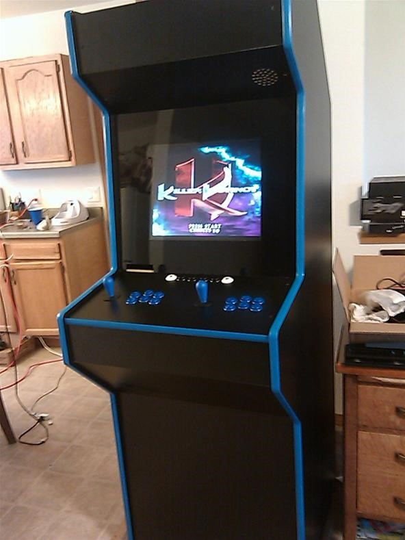 DIY Challenge: Custom built Arcade/Emulator cabinet