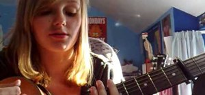 "Play ""Perfect"" by Simple Plan on the acoustic guitar"