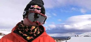 Bust a 900 on skis with Tanner Hall in a pipe