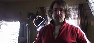 Create a lighting setup for an interview