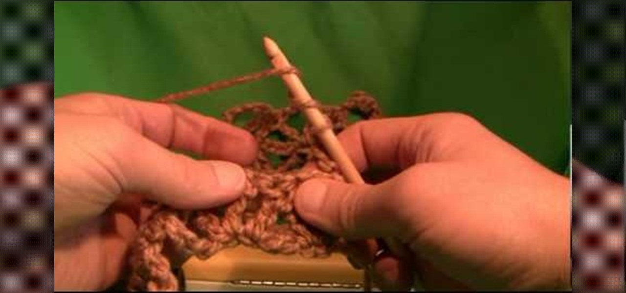 How To Crochet A Double Lattice Stitch For Beginners