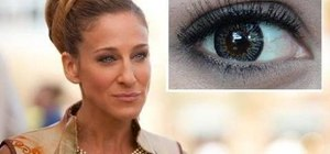 Create a quick makeup look inspired by Carrie Bradshaw