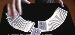 "Perform the ""wanna bet"" card trick"