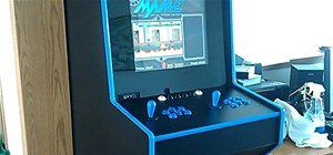 Custom Made MAME Arcade Cabinet