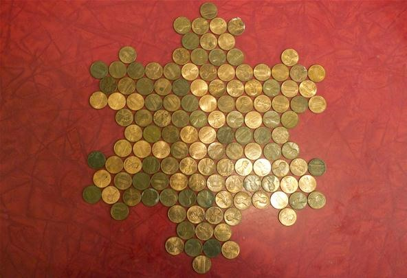 Math Craft Monday: Community Submissions (Plus Tiling with Coins)