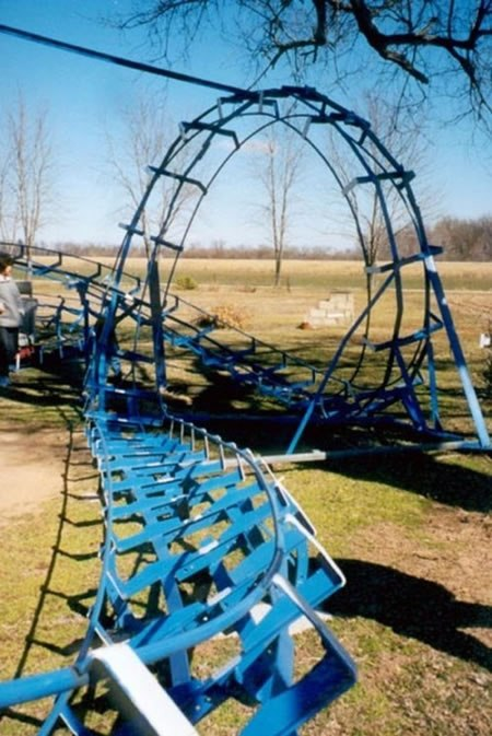 Roller Coaster In My Backyard : Previously, Rickety Backyard Roller Coaster Doesnt This Lead