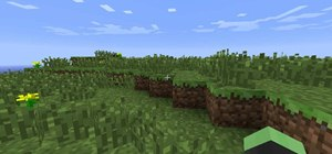 Use creative mode in Minecraft 1.8 to build a world