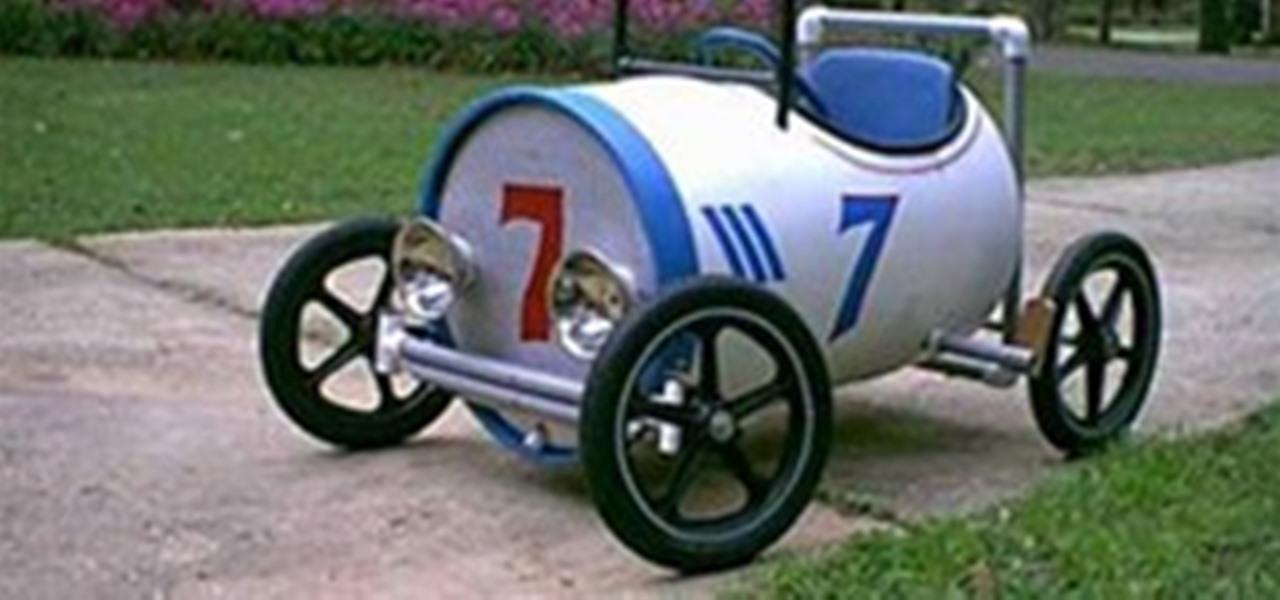 Super Cool Pedal Powered Pvc Car 171 Pvc Innovation
