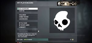 Create a Skullcandy Call of Duty: Black Ops playercard emblem