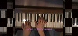 "Play ""Tears in Heaven"" by Eric Clapton on piano"