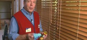Install window blinds with Lowe's